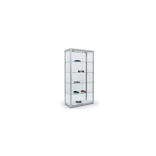 JTW-Vitrinen Glasvitrine für Modellautos 100 x 200 x 50 cm