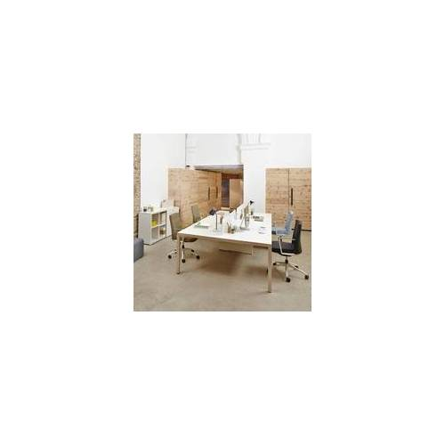 Actiu Schreibtisch 4 Personen Teamarbeitsplatz Prisso