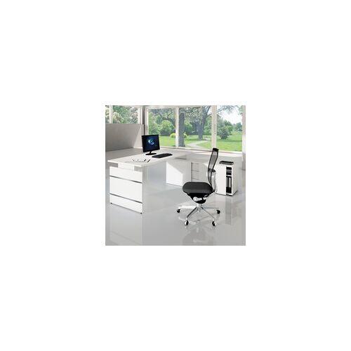 Kerkonn Büro Schreibtisch mit Sideboard Ovekko