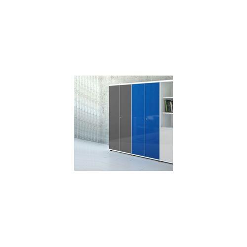 mdd Abschließbarer Aktenschrank Flügeltürenschrank Büro Pyram