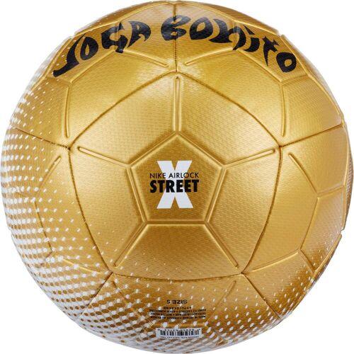Nike Joga Bunito Fußball white-gold-black 5