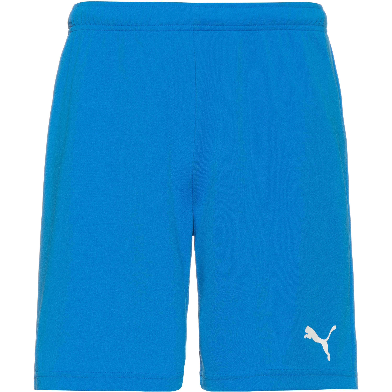 Puma teamRISE Fußballshorts Herren electric blue lemonade-white M