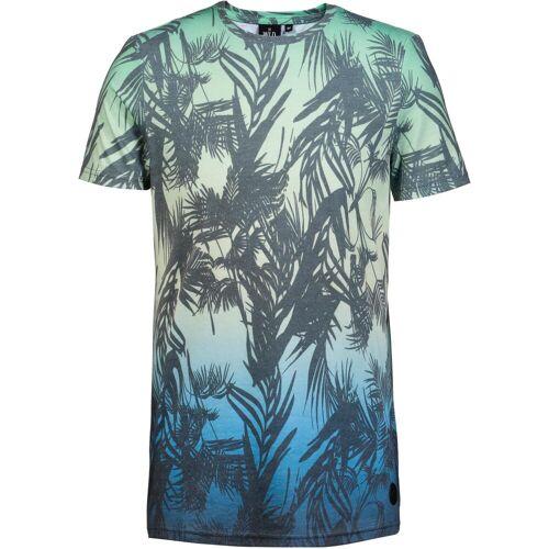 WLD Macaroni Union T-Shirt Herren blue green M