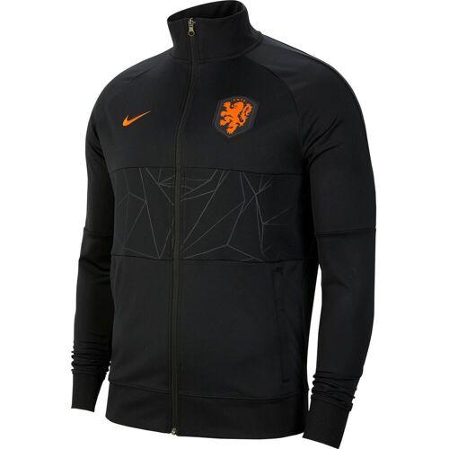 Nike Niederlande 2021 Trainingsjacke Herren black-black-black-safety orange XL