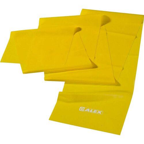ALEX leicht Gymnastikband gelb LEICHT
