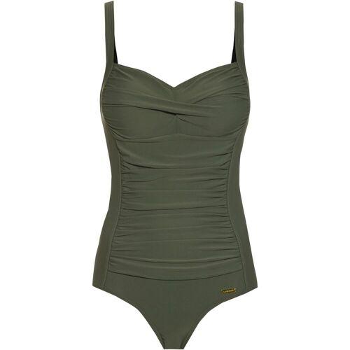 Lascana Badeanzug Damen oliv 44 / D
