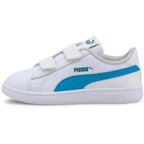 Puma SMASH V2 Sneaker Kinder puma white-dresden blue 31