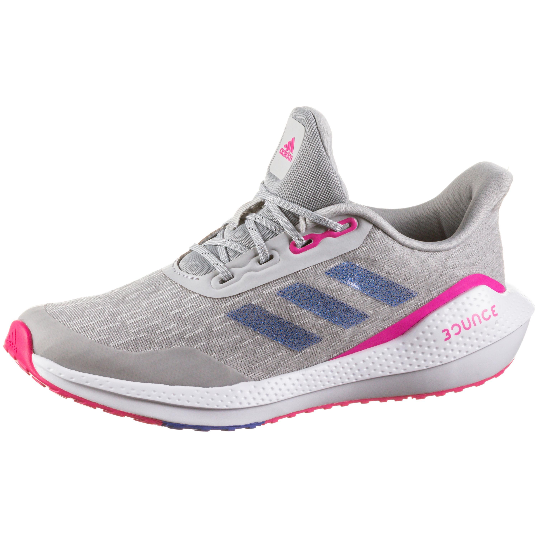 Adidas EQ21 RUN Laufschuhe Kinder grey two-sonic ink-shock pink 37 1/3