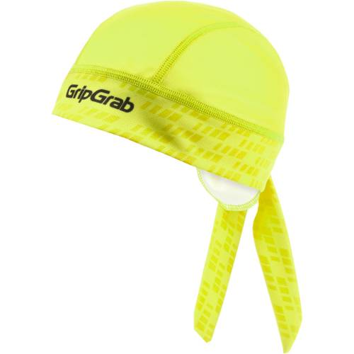 GripGrab Bandana Helmmütze Yellow Hi-Vis Einheitsgröße