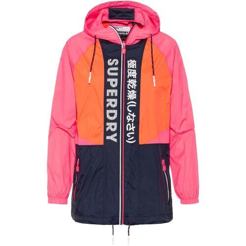 Superdry Windbreaker Damen pink-orange-navy S