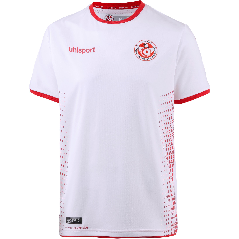 Uhlsport Tunesien 2018 Heim Trikot Herren weiß-rot S