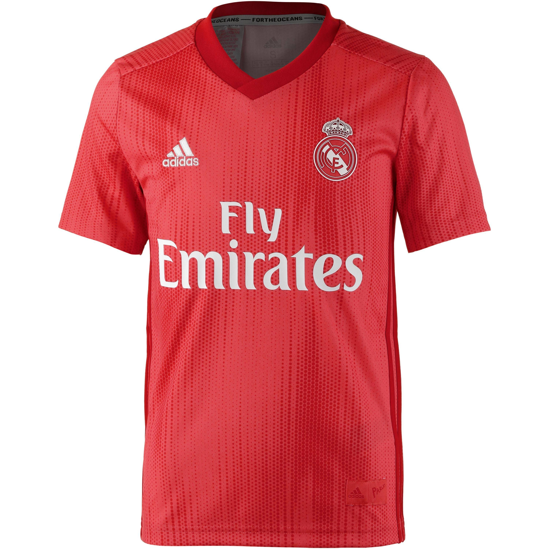 Adidas Real Madrid 18/19 CL Trikot Kinder real coral 176