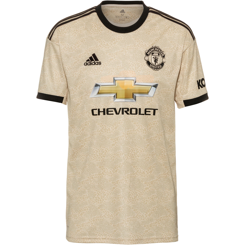 Adidas Manchester United 19/20 Auswärts Trikot Herren linen L