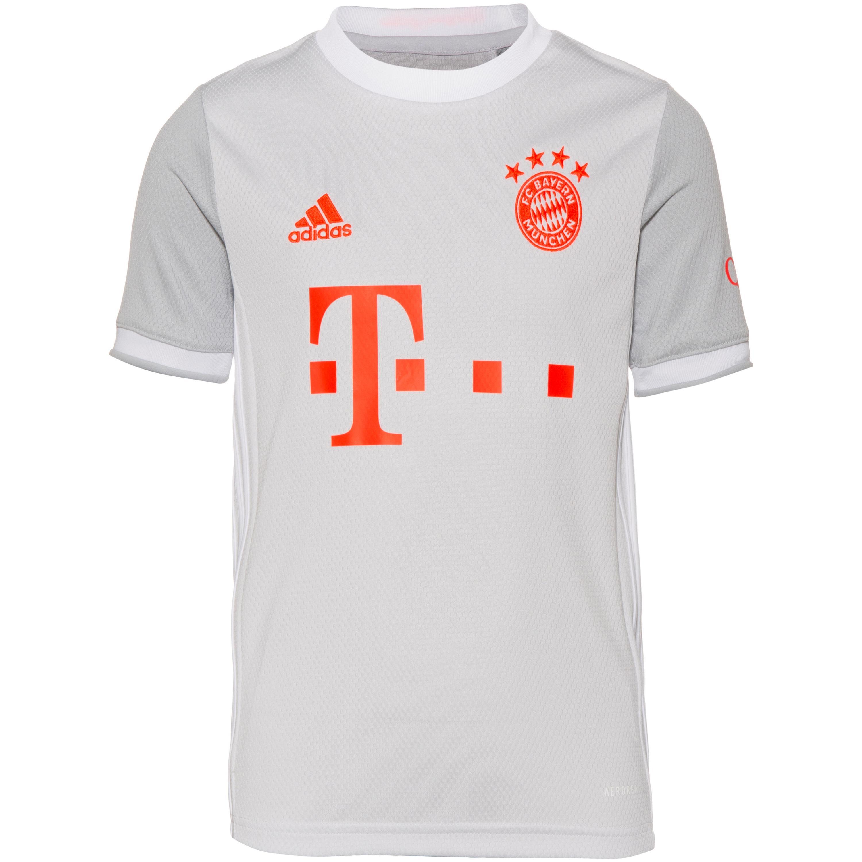 Adidas FC Bayern 20-21 Auswärts Trikot Kinder dash grey 140
