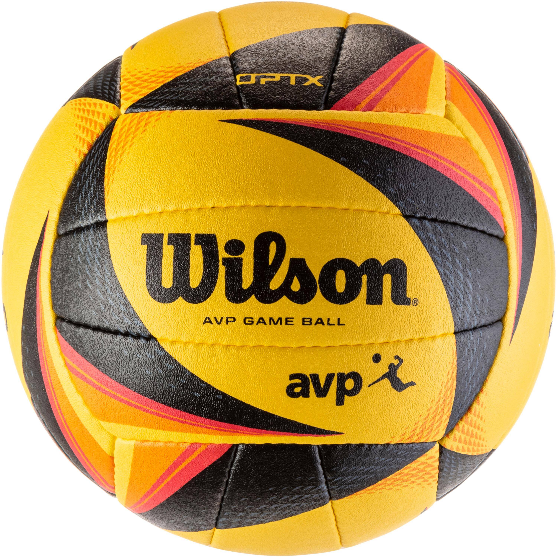 Wilson OPTX AVP VB OFFICIAL GB Volleyball yellow-black-orange Einheitsgröße