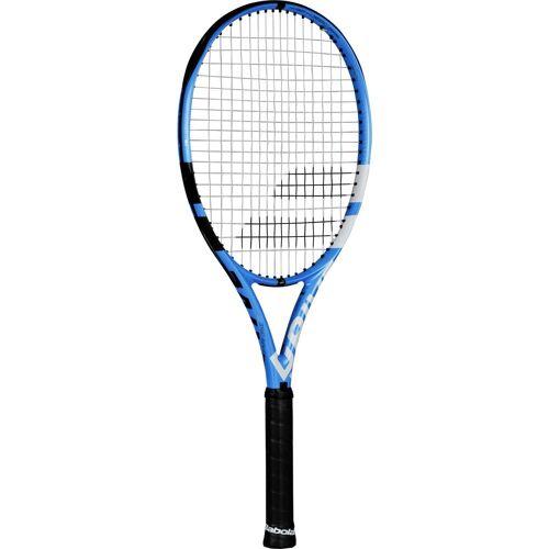 Babolat PURE DRIVE 110 STRUNG NC Tennisschläger black blue 1