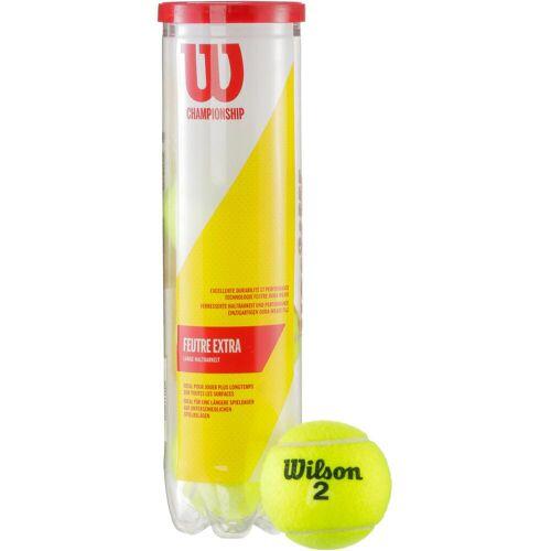 Wilson Championship Tennisball gelb Einheitsgröße