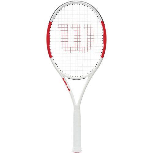 Wilson Six One 102 Lite Tennisschläger weiß-rot 3