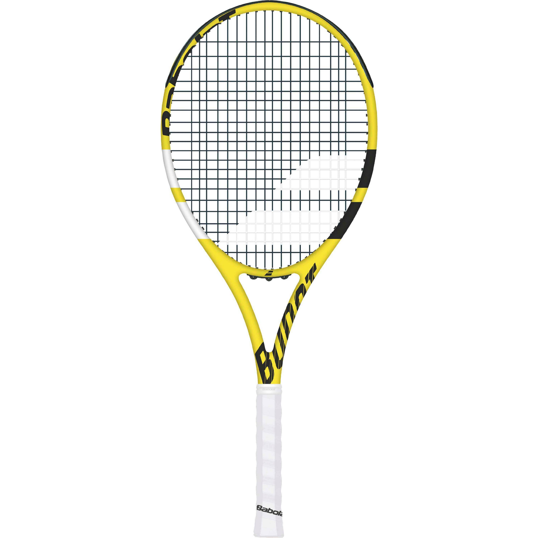 Babolat BOOST AERO STRUNG Tennisschläger gelb schwarz 1
