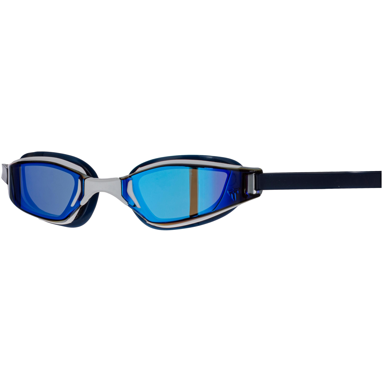 Aquasphere Xceed Schwimmbrille blue titanium mirror-white black L