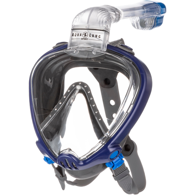 AQUA LUNG SMART SNORKEL Schnorchel navy blue grey L/XL