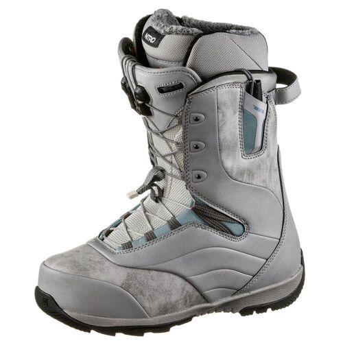 Nitro Snowboards Crown TLS Snowboard Boots Damen grey-steel blue 27 1/2