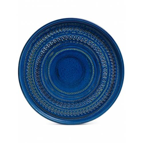 BITOSSI CERAMICHE 'Centerpiece' Teller - Blau Unisex regular