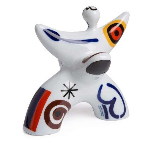 Sargadelos Miró Porzellanfigur 18cm - Weiß Male regular