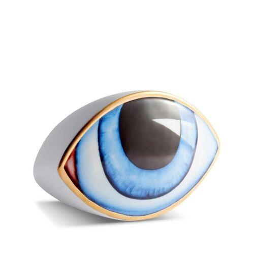 L'Objet 'Lito' Briefbeschwerer mit Augenform - Weiß Male regular