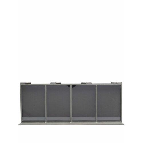 Parts of Four Brillenetui aus Eisen - Grau Unisex regular