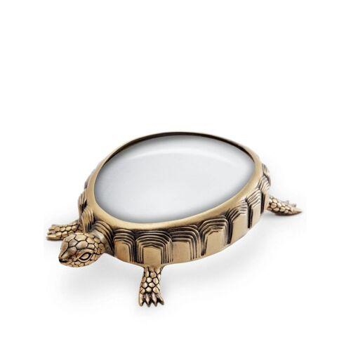 L'Objet Turtle Lupe - Gold Unisex regular