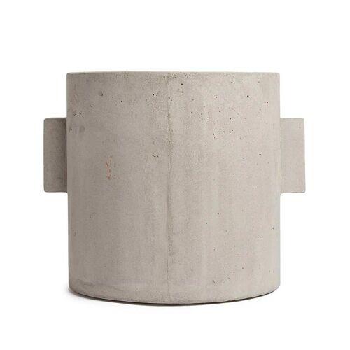 Serax Runder Pflanztopf - Grau Unisex regular