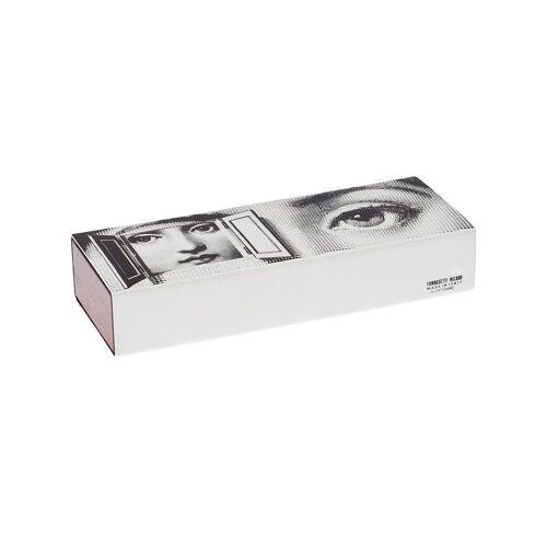 Fornasetti Holzbox mit Deckel - Schwarz Unisex regular