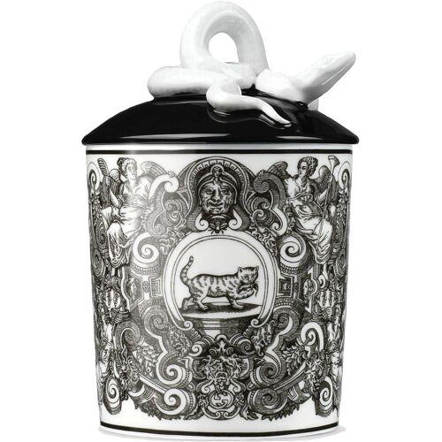 Gucci Kerze mit Katze-Print - Weiß Unisex regular