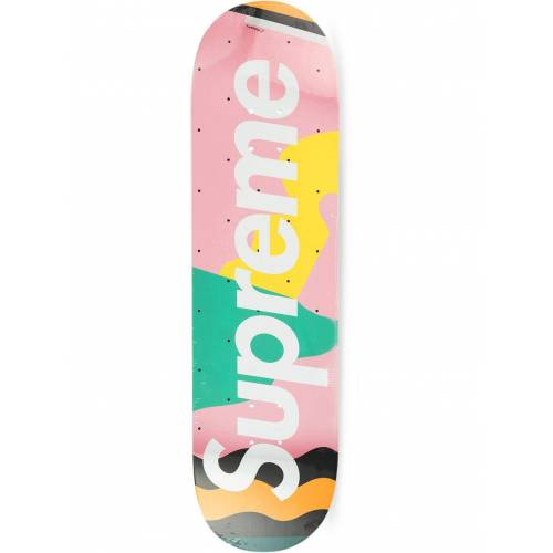 Supreme 'Mendini' Skateboard-Deck - Rosa Unisex regular