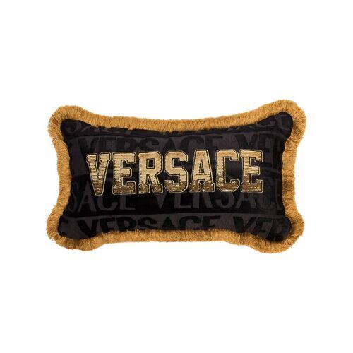 Versace Home Kissen mit Logo - Schwarz Female regular