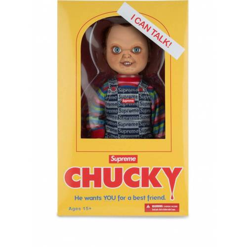 Supreme Chucky Puppe - Blau Male regular