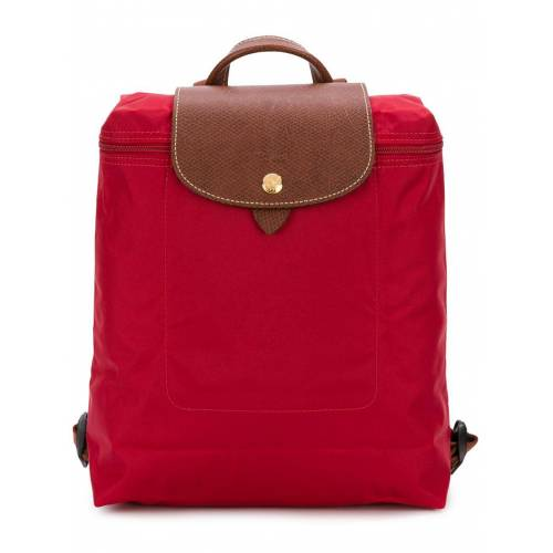 Longchamp 'Le Pliage' Rucksack - Rot Female regular