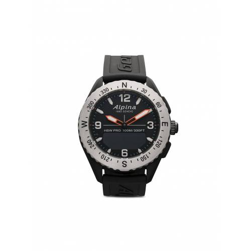Alpina 'Alpinerx' Smartwatch, 45mm - BLACK Male regular