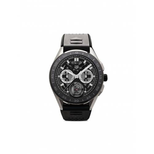 TAG Heuer 'Connected Modular' Smartwatch, 45mm - BLACK Male regular