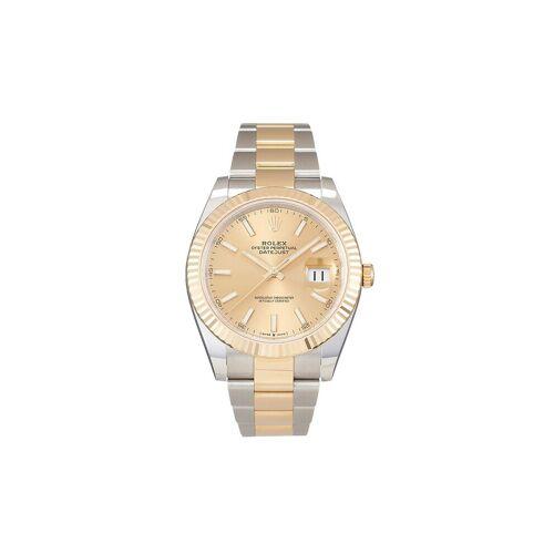 Rolex Ungetragene Oyster Perpetual Datejust Armbanduhr, 41mm - Gold Male regular
