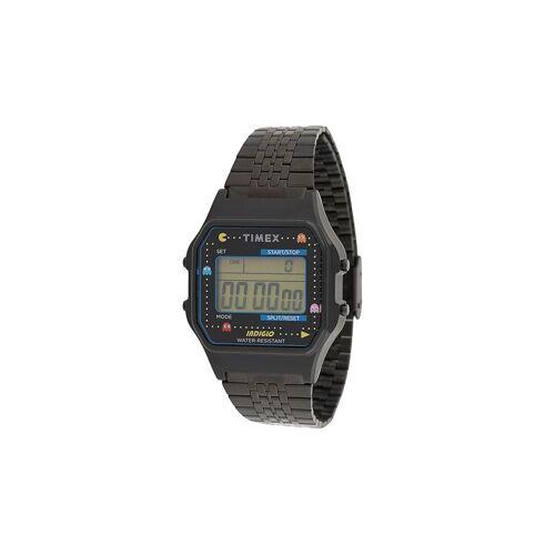 TIMEX Timex x Pac-Man 'T80' Armbanduhr, 34mm - Schwarz Male regular