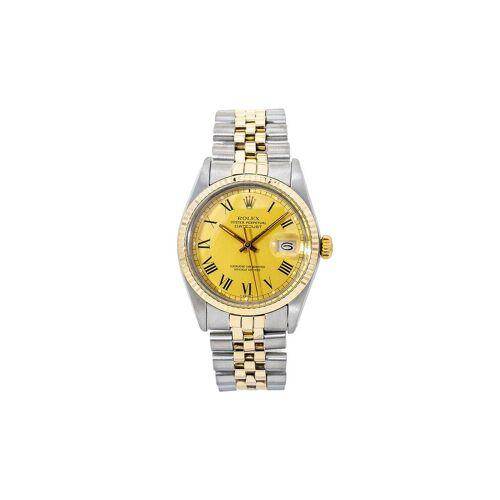 Rolex 1980s pre-owned Datejust Armbanduhr, 36mm - Gold Female regular