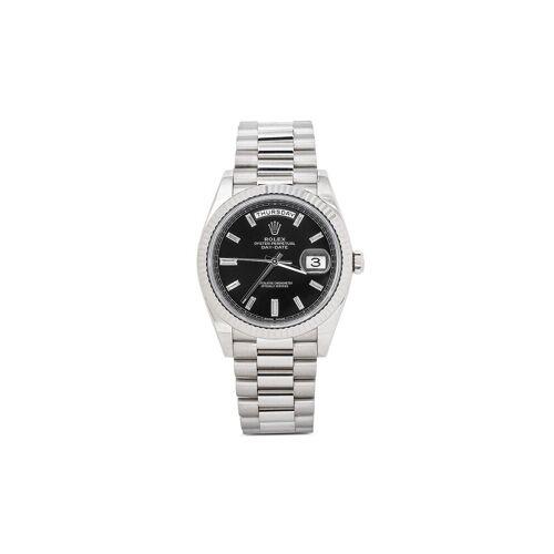 Rolex 2015 pre-owned Day-Date Armbanduhr, 40mm - Schwarz Female regular