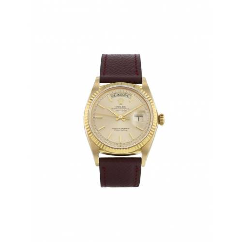 Rolex 1972 pre-owned Day-Date 36mm - Gold Male regular