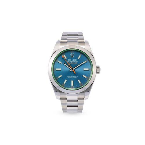 Rolex 2021 ungetragene Milgauss 40mm - Blau Male regular