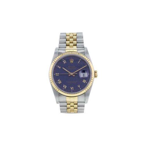 Rolex 1989 pre-owned Datejust 36mm - Blau Male regular