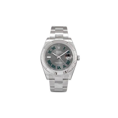 Rolex 2021 ungetragene Datejust 41mm - Grau Male regular