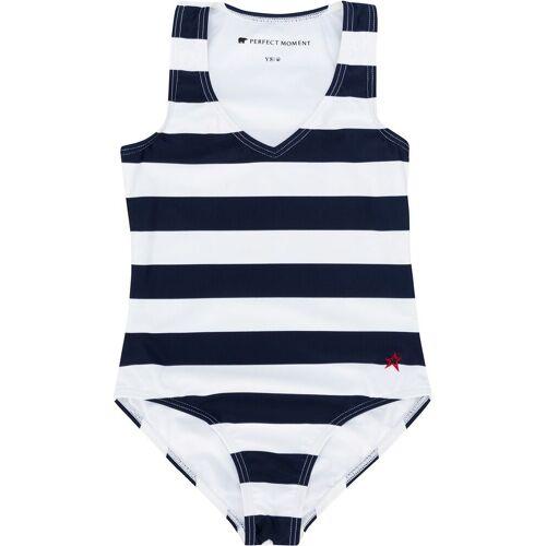Perfect Moment Kids Badeanzug mit Streifen - Blau Male regular