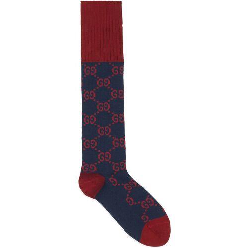 Gucci Socken mit GG-Muster - Blau Male regular